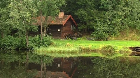 842811422-wooden-house-wooden-hut-wood-construction-pond