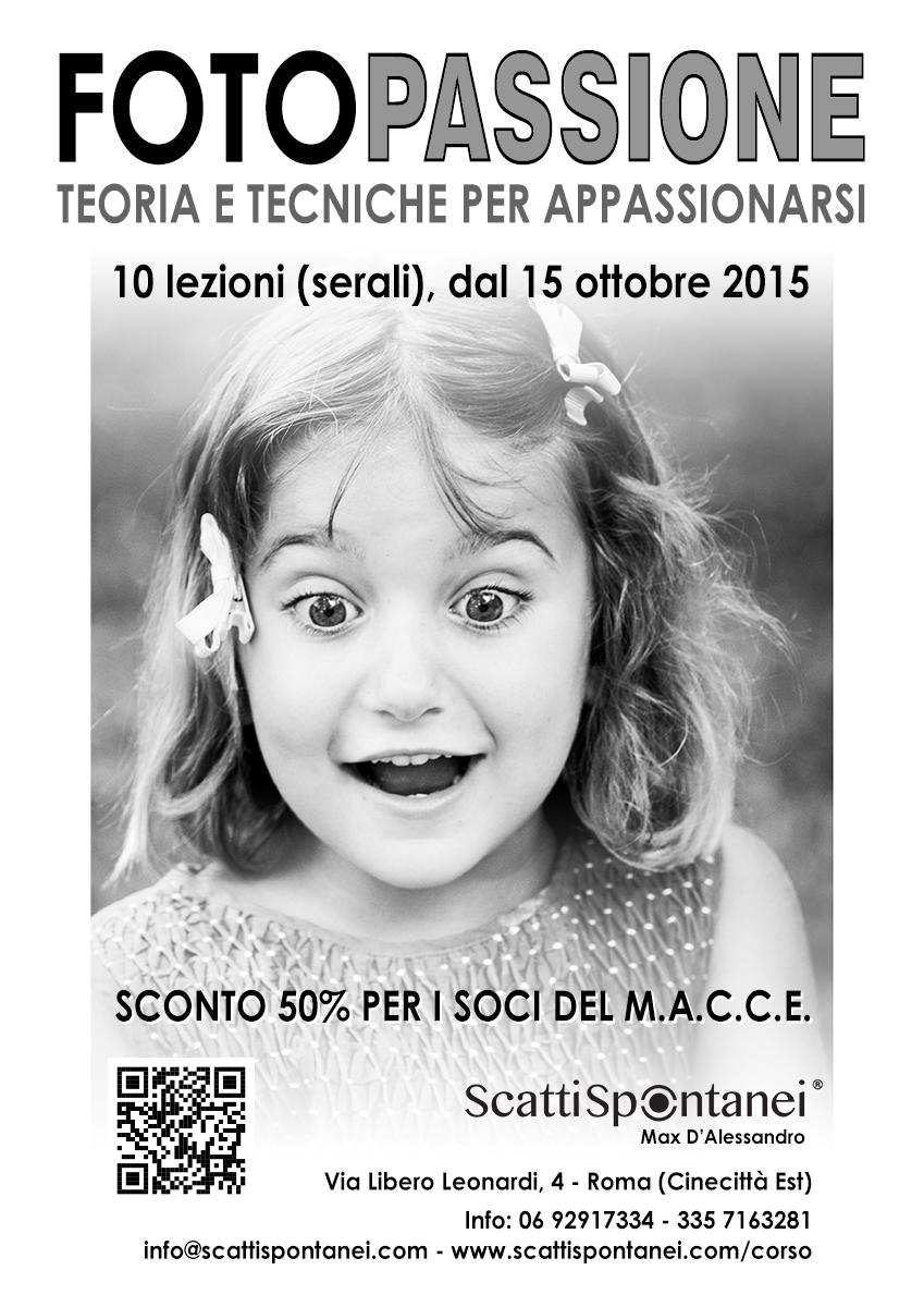 FotoPASSIONE (ottobre 2015) - Locandina A3 - MACCE