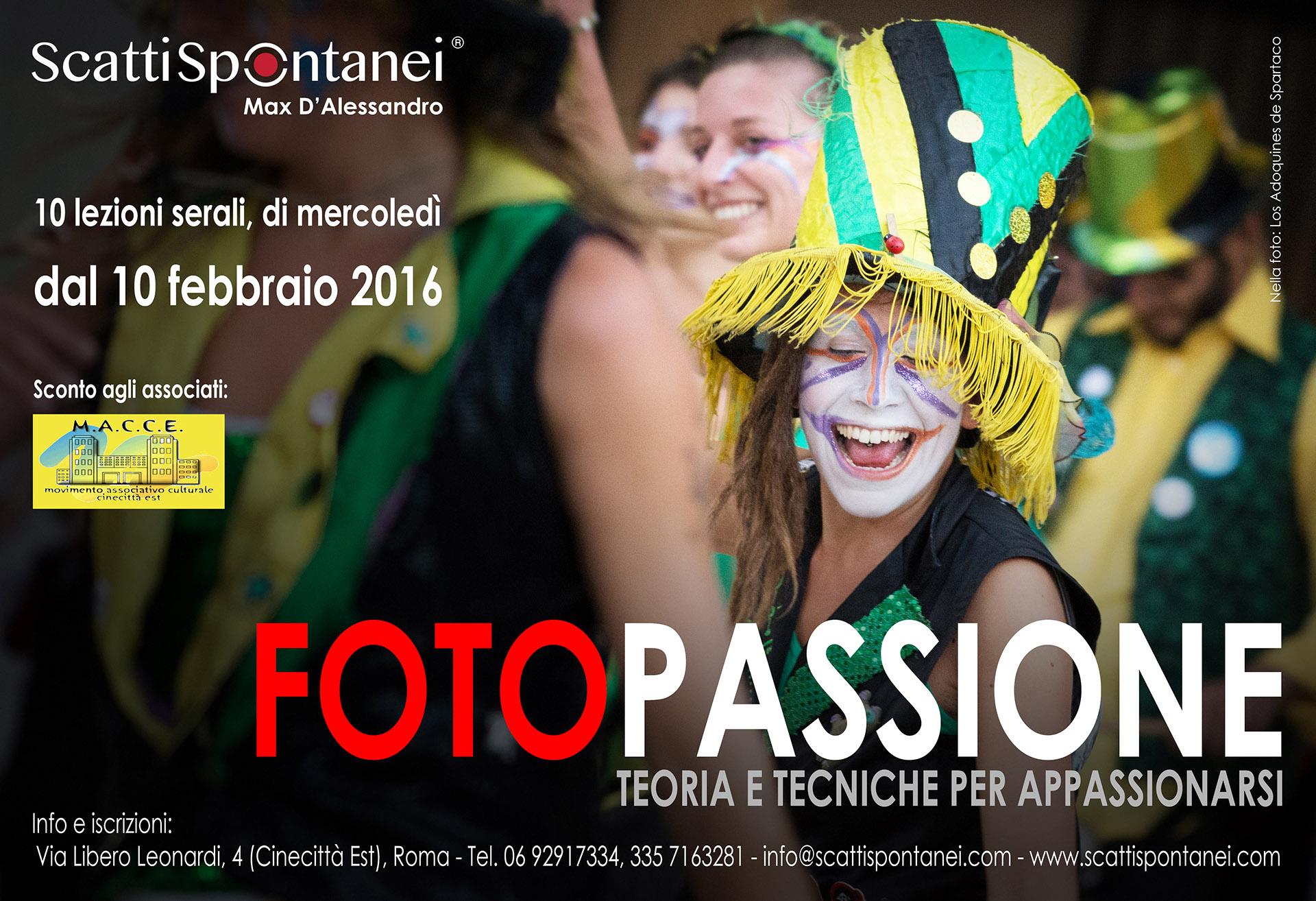 FotoPASSIONE (febbraio 2016) - Locandina sito MACCE [813219]