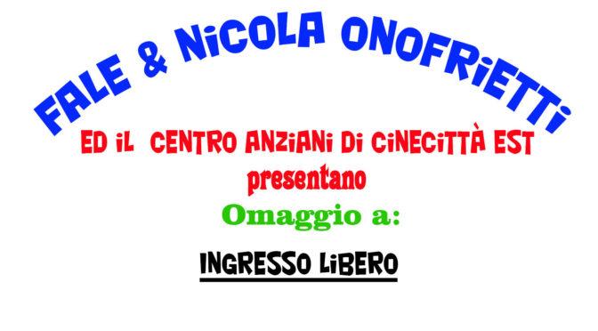 Omaggio a ….. Napoli, Firenze, Roma – Domenica 5 Febbraio alle 17:30